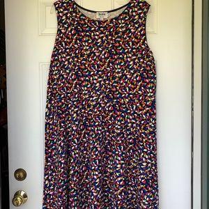 Leota Knit Fit & Flare Sleeveless Dress 4X